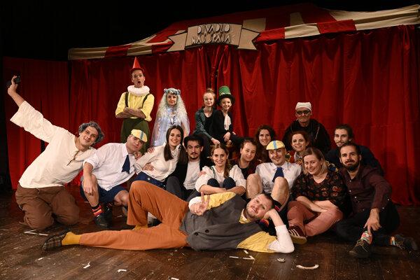 Pinocchio a jeho divadelný sen.