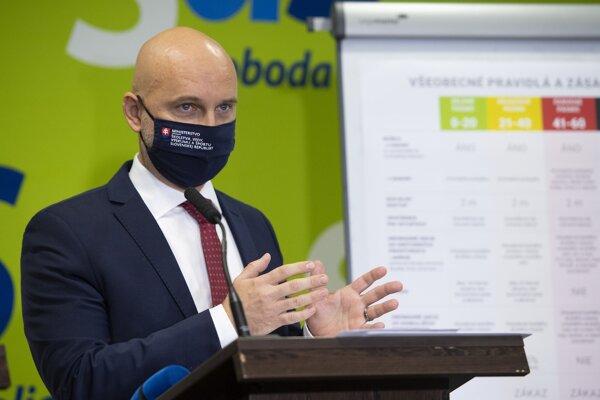 Podpredseda strany Sloboda a Solidarita (SaS) a minister školstva Branislav Gröhling.