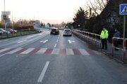 Polícia vyšetruje vážnu nehodu.