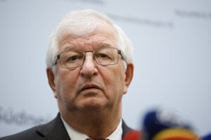 Predseda Súdnej rady Ján Mazák.