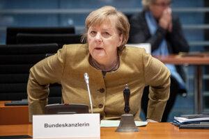 Nemecká kancelárka Angela Merkelová.