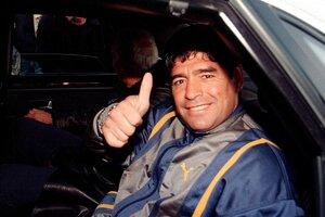 Pri odchode z letiska Malpensa v Miláne v roku 1999.