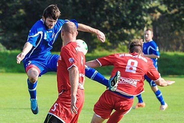 Rezerva FC ViOn porazila Kalnú n/Hr. tesne 1:0.