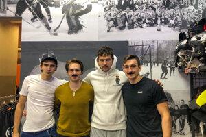 Košickí hokejisti podporili kampaň Movember.