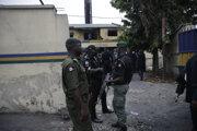 Nigérijská polícia. Ilustračná fotografia.