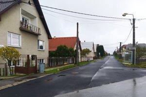 V Turčianskom Michale sa zrenovovala cesta.