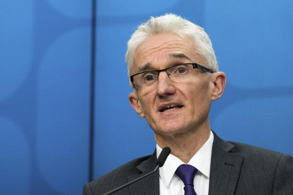 Vedúci Úradu OSN pre koordináciu humanitárnych záležitostí a núdzovej pomoci Mark Lowcock.