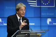 Eurokomisár pre ekonomiku Paolo Gentiloni.