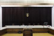 Pojednávacia miestnosť na Najvyššom súde.