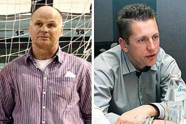 Ján Meszároš (vľavo) je už bývalý tréner Čeľadíc. Nahradil ho Jozef Jelšic.