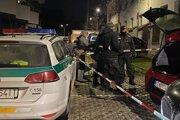 Protidrogová akcia polície v širšom centre mesta.