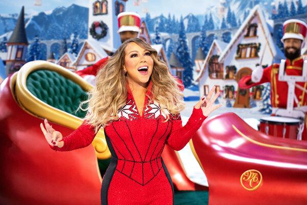 Mariah Carey vo vianočnom špeciáli pre Apple TV.