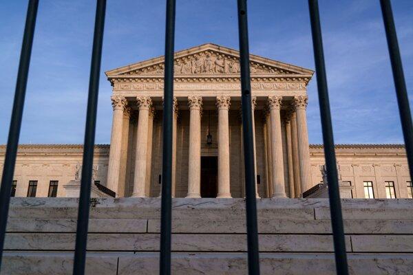 Navyšší súd USA vo Washingtone.