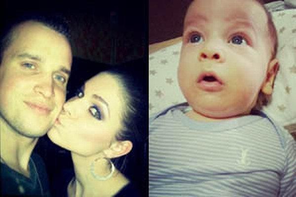 Lukáš Hroššo sa s priateľkou Silviou tešia z deväťmesačného syna Lucasa.