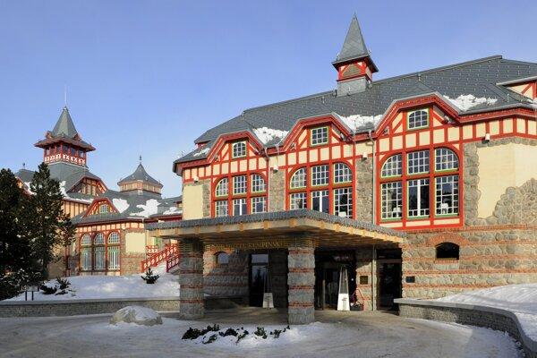 Hotel Kempinski na Štrbskom Plese.