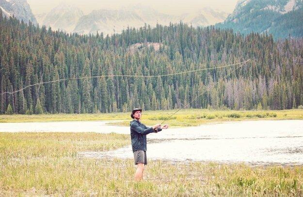 Na rybačke v Skalnatých vrchoch.