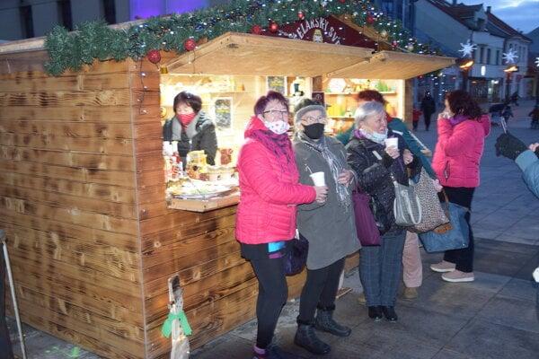 Na vianočných trhoch vMartine.