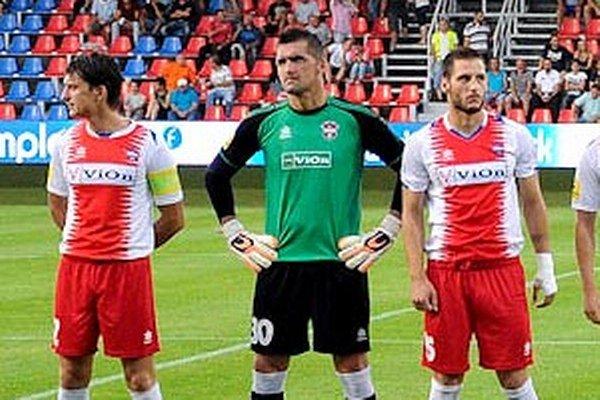 Brankár Pavel Kováč je oporou Zlatých Moraviec v doterajšom priebehu Fortuna ligy.