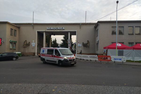Bojnická nemocnica.