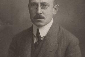 Portrét Rudolfa Těsnohlídka.
