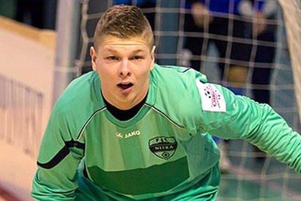 Matej Dovičovič v drese FC Nitra.