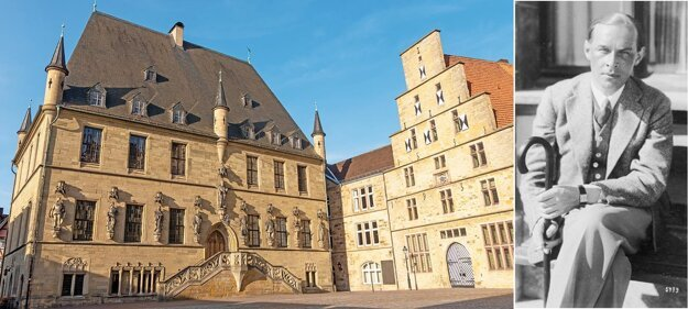 Mesto Osnabrück, ležiace na severozápade Nemecka, bolo založené Karolom Veľkým v roku 780. V roku 1648 tu bol podpísaný vestfálsky mier, ktorým sa skončila tridsaťročná vojna. Na konci tridsaťročnej vojny sa po Európe cestami-necestami rozšírilo množstvo odrôd ovocín, najmä jabloní a hrušiek, ktorých vrúble si vojaci brali so sebou domov. Mesto Osnabrück, podľa ktorého bola niekedy v 18. storočí pomenovaná aj Osnabrücká reneta, sa trvalo zapísalo nielen do dejín ovocinárstva, ale napríklad aj do dejín umenia.  22. júna 1898 sa tu narodil jeden z najvýznamnejších spisovateľov 20. storočia Erich Maria Remarque.