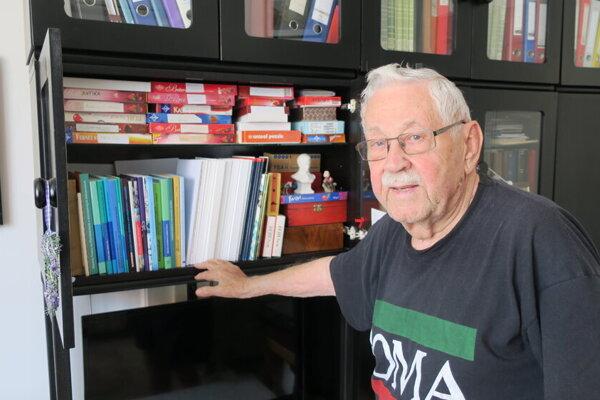 Július Molnár z Trnavy oslávil v lete už svoje 99. narodeniny.