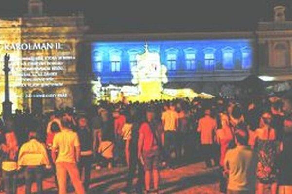 Pre veľký záujem ľudí bude mať Veľkomoravský orloj na budove bývalej radnice počas tohtoročných slávností reprízu.