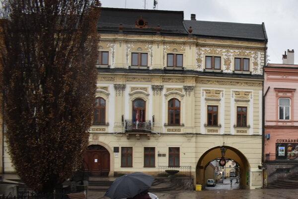 Mestský úrad v Prešove.