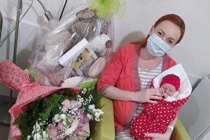 Zoja s mamou Miroslavou Zehnalovou.
