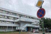 Nemocnica v Bánovciach nad Bebravou.