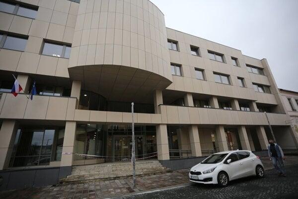 Mestský úrad v Prešove na Jarkovej ulici.