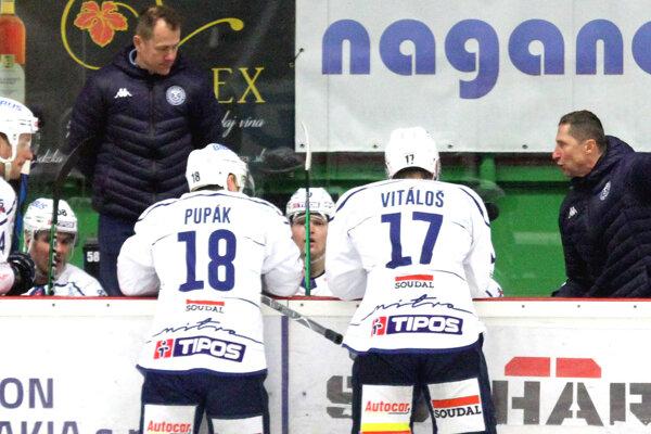 Nitriansky tréner Antonín Stavjaňa penil.