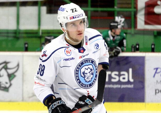 Martin Hřebíček si zastal miesto v prvej obrane Nitry.