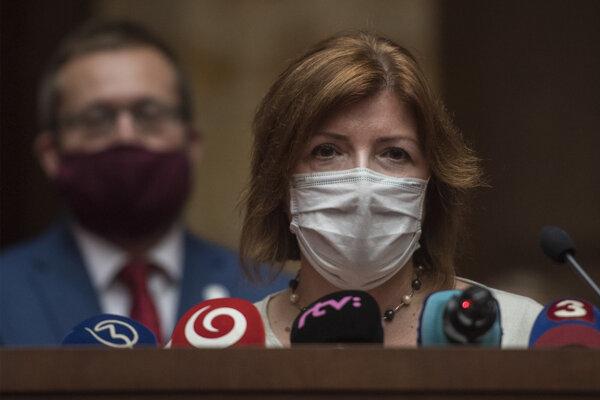 Epidemiologička Alexandra Bražinová.