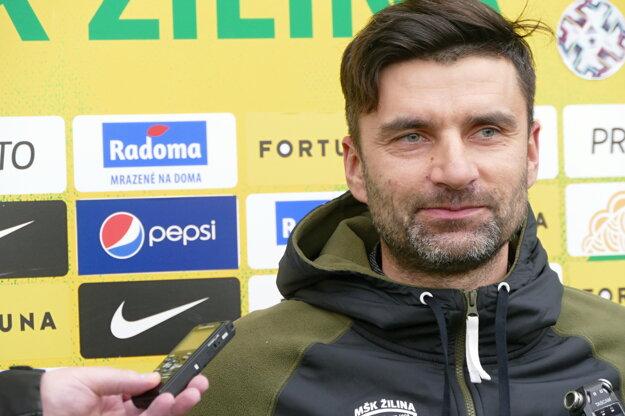Tréner MŠK Žilina Pavol Staňo.