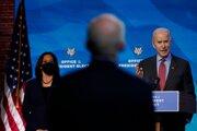 Budúci prezident Joe Biden a viceprezidentka Kamala Harrisová.