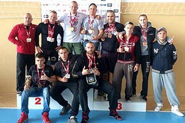 Pretekári GB Pitbull získali 19 medailí.