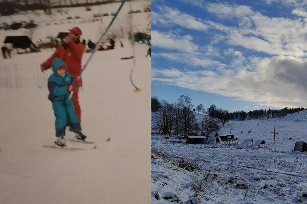Kráľová v roku 1997 (vľavo) a v roku 2021 (vpravo).