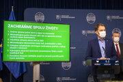 Plošné testovanie na Covid: Premiér Matovič oznámil plán Zachráňme spolu životy.