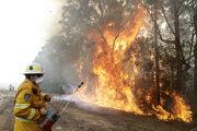 Rok 2020 sa začal nezvyčajne silným obdobím požiarov v Austrálii.