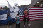 Migranti smerujú do USA.
