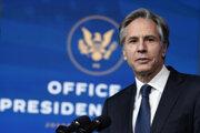 Antony Blinken vystrieda v úrada odchádzajúceho Trumpovho šéfa diplomacie Mikea Pompea.