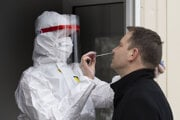 Antigénové testovanie na koronavírus.