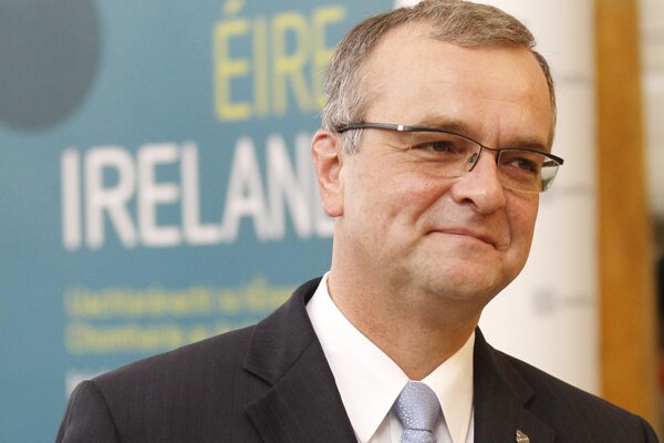 Predseda poslaneckého klubu českej strany TOP 09 Miroslav Kalousek.