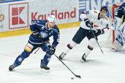Zápas HK Nitra - HC Slovan Bratislava.