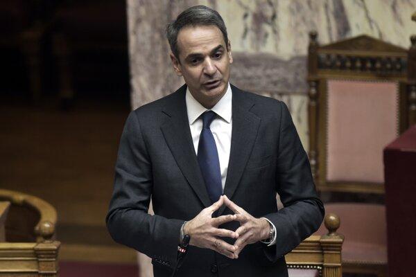 Grécky premiér Kyriakos Mitsotakis