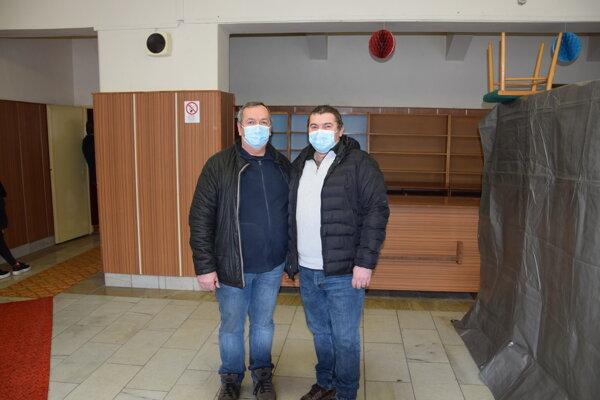 Starostovia Igor Guráň a Peter Hamráček.