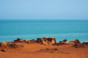 Pobrežie Západnej Austrálie.