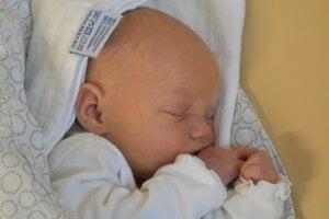 Jessica Matušková (3140 g, 50 cm) sa narodila 16. januára Nikol a Patrikovi z Chynorian.